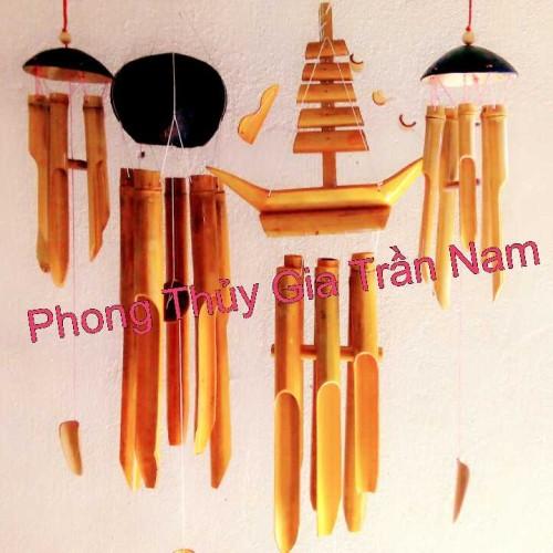 Chuông Gió Phong Thủy